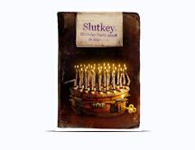 Флаер на День рождения dj Slutkey