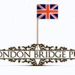 Оформление London Bridge pub