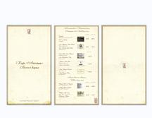 Винная карта для ресторана «Аппетит»